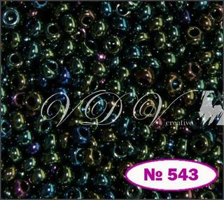 Бисер 10/0 № 543 / 59155 (перламутровый бензиновый (ирис))
