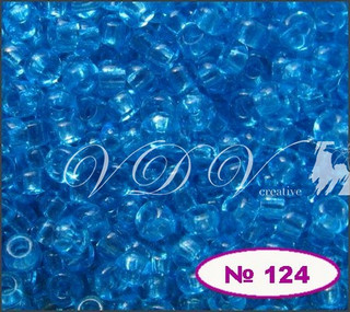 Бисер 11/0 № 124 / 60030 (прозрачный)