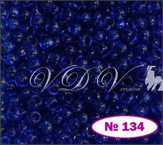 Бисер 10/0 № 134 / 60300 (прозрачный)