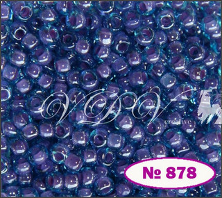 Бисер 10/0 № 878 / 61328 (хамелеон)