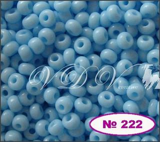 Бисер 10/0 № 222 / 63000 (натуральный)
