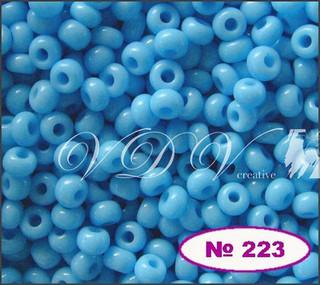 Бисер 10/0 № 223 / 63020 (натуральный)