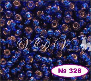 Бисер 10/0 № 490 / 67300 (блестящий с квадратной серединкой)