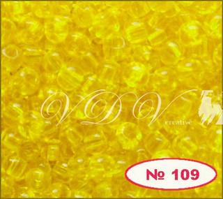 Бисер 10/0 № 109 / 80010 (прозрачный)