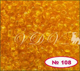 Бисер 10/0 № 108 / 80060 (прозрачный)