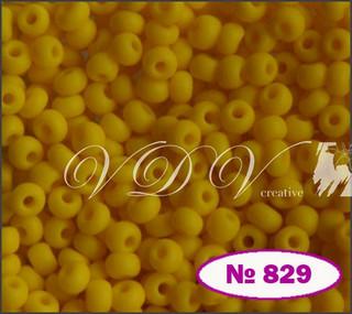 Бисер 10/0 № 829 / 83110 (натуральный матовый)
