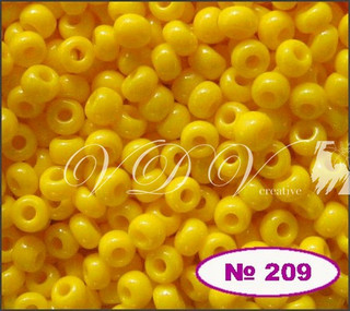 Бисер 10/0 № 209 / 83130 (натуральный)
