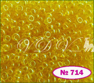 Бисер 10/0 № 714 / 86010 (глазурированный)