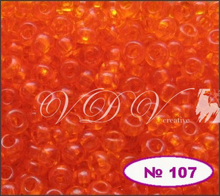 Бісер 10/0 107/90000 (прозорий)