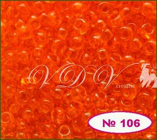 Бисер 10/0 № 106 / 90030 (прозрачный)