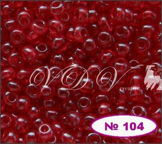 Бисер 10/0 № 104 / 90070 (прозрачный)