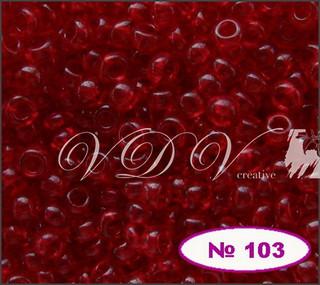 Бисер 12/0 № 103 / 90090 (прозрачный)