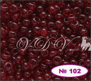 Бисер 12/0 № 102 / 90120 (прозрачный)