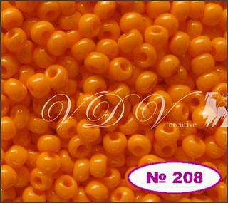 Бисер 10/0 № 208 / 93110 (натуральный)