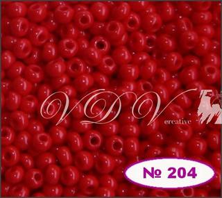Бисер 10/0 № 204 / 93170 (натуральный)