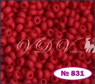 Бисер 10/0 № 831 / 93170 (натуральный матовый)