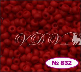 Бисер 10/0 № 832 / 93190 (натуральный матовый)