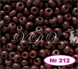 Бисер 10/0 № 212 / 93300 (натуральный)