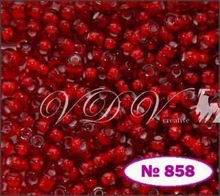 Бисер 10/0 № 858 / 95076 (мелованный)