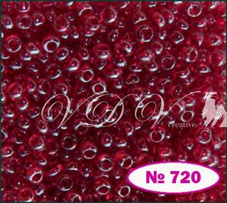Бисер 10/0 № 720 / 96090 (глазурированный)