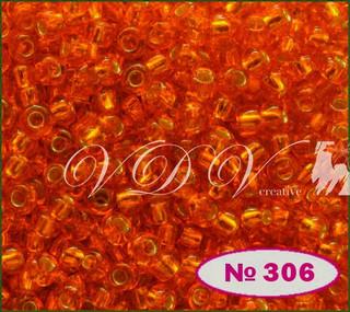 Бисер 10/0 № 494 / 97030 (блестящий с квадратной серединкой)