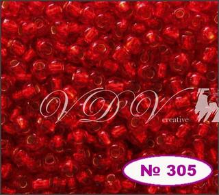 Бисер 10/0 № 495 / 97050 (блестящий с квадратной серединкой)