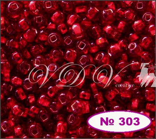 Бисер 12/0 № 303 / 97090 (блестящий)