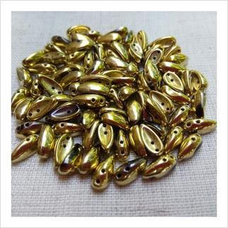 Бусины Chilli №23980-26443 (металлизированный)