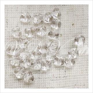 Бусины сердечки №00030 (кристаллический)