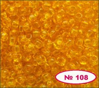 Бисер 10/0 № 80060 / 108 (прозрачный)