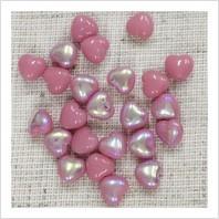 Бусины сердечки №73020-28701 (натуральный глянцевый)