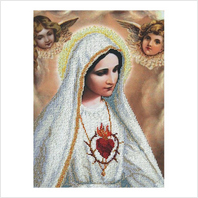 """Набор для вышивания бисером ''Фатимская Богородица"""""""