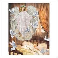 """Набор для вышивания мулине """"Ангел сна"""""""