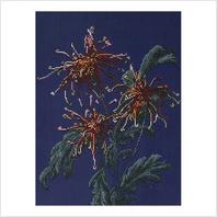 """Набор для вышивания бисером ''Хризантемы в саду"""""""