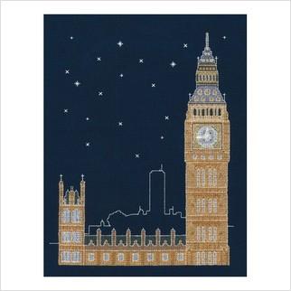 """Набор для вышивания ''Лондон ночью"""""""