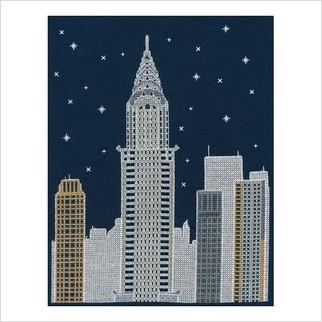 """Набор для вышивания ''Нью-Йорк ночью"""""""