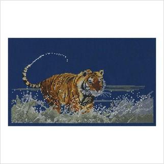 """Набор для вышивания ''Бегущий тигр"""""""