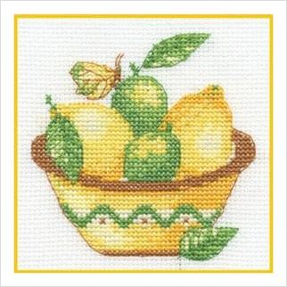 """Набор для вышивания ''Лимон"""""""