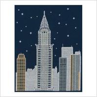 Набор для вышивания ''Нью-Йорк ночью