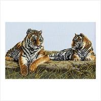 """Набор для вышивания ''Величественные тигры"""""""