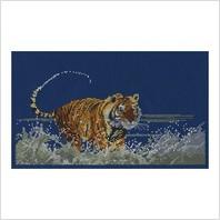 Набор для вышивания ''Бегущий тигр