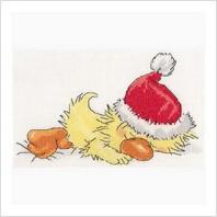 Набор для вышивания ''Спящий Санта
