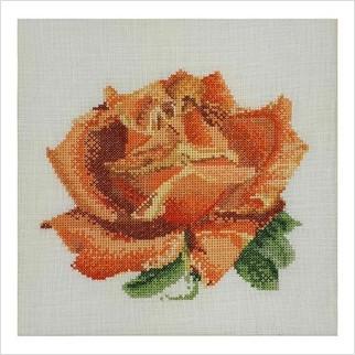 "Набор для вышивания ''Красная роза"""