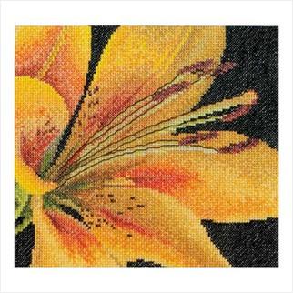 """Набор для вышивания ''Желтая лилия"""""""
