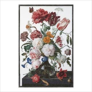 """Набор для вышивания ''Натюрморт с цветами в стеклянной вазе"""""""