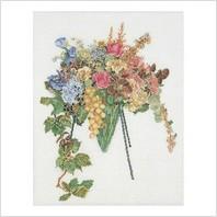 Набор для вышивания ''Цветочный каскад