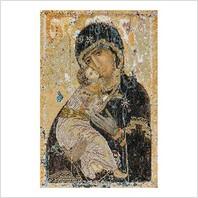 Набор для вышивания ''Владимирская икона Божьей Матери