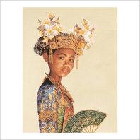 """Набор для вышивания ''Балийская танцовщица"""""""