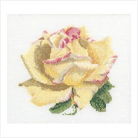 "Набор для вышивания ''Желтая роза"""
