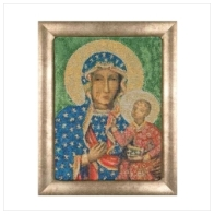 """Набор для вышивания ''Ченстоховская икона Божией Матери"""""""